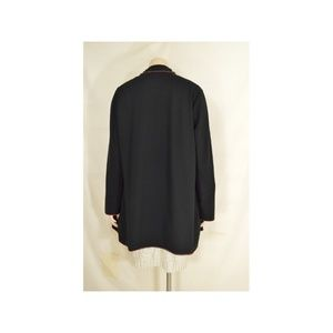 fresh produce Jackets & Coats - Fresh Produce coat XXL black fleece asymmetrical r